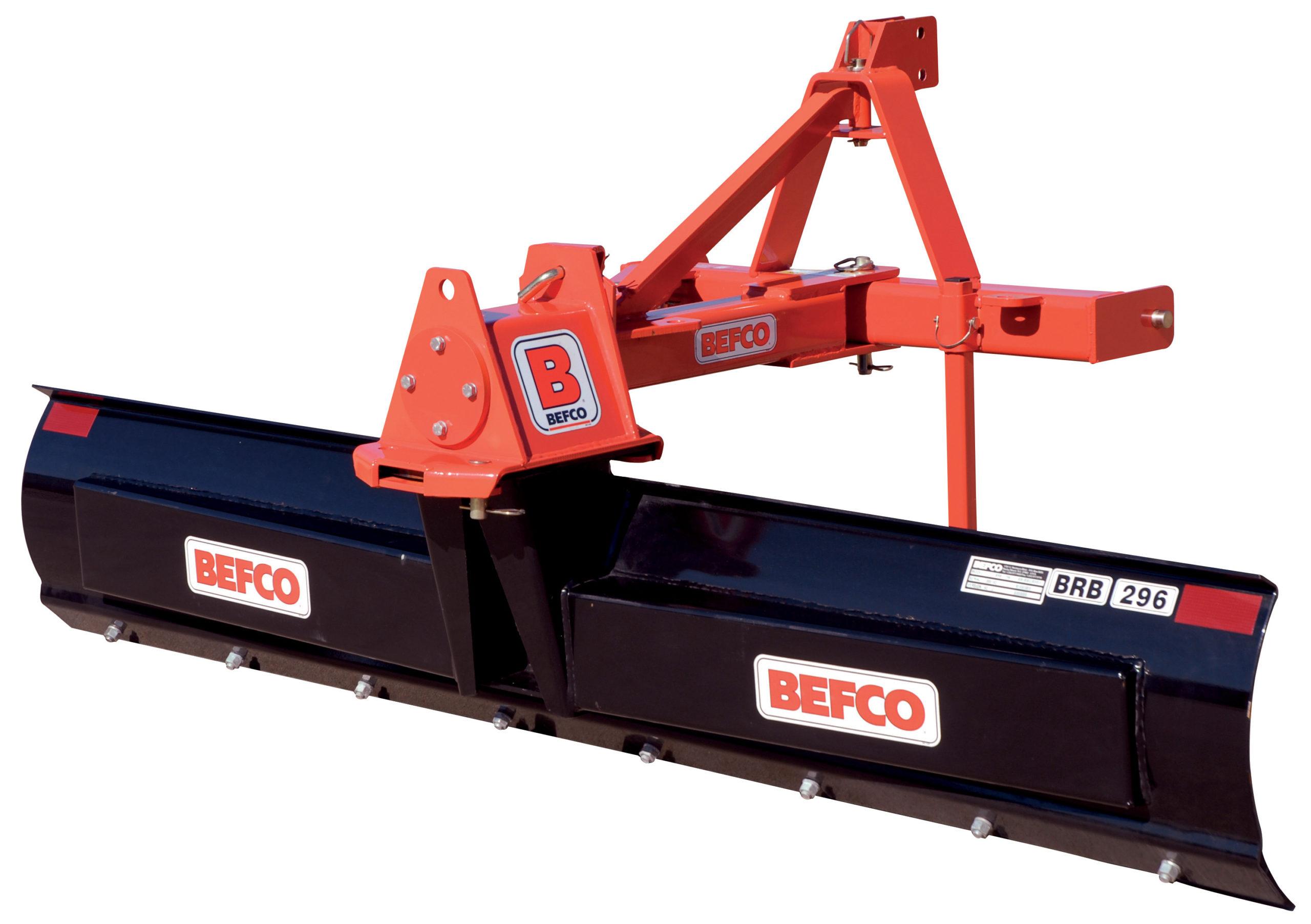 BRB HD rear blades
