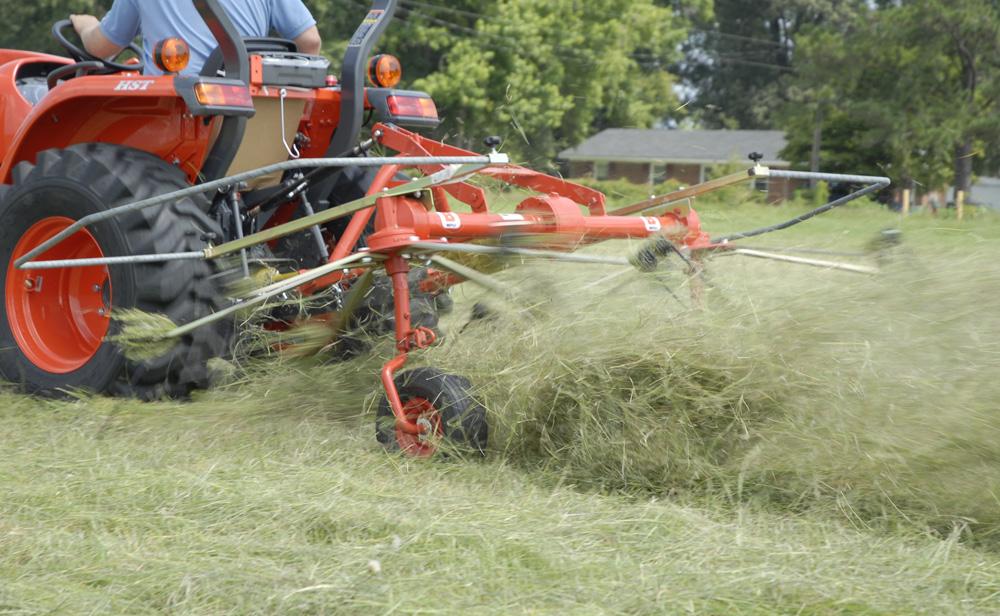 DRP-300 hay tedders