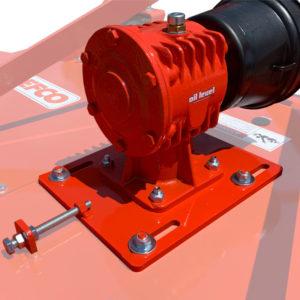Grooming mower gearbox
