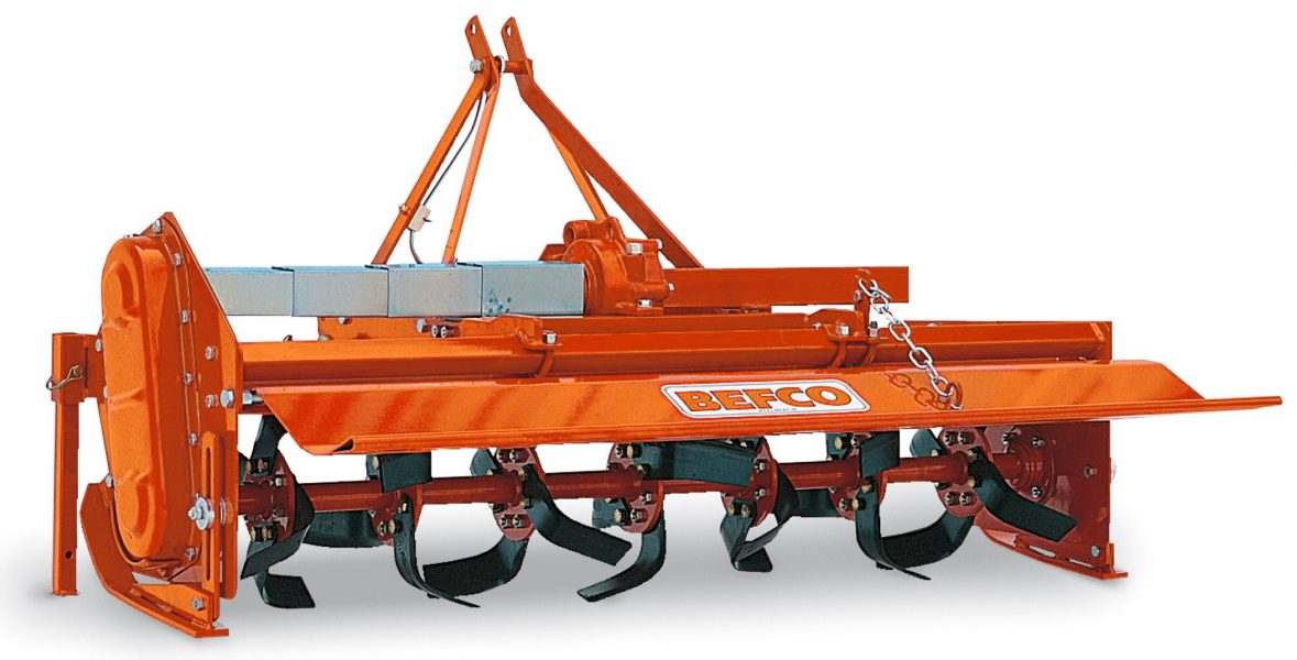 T40-258 Rotary tiler with side shift